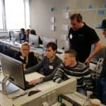 Technomathematik goes agile, Gruppenbild, Präsentation