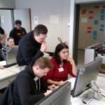 Technomathematik goes agile, Gruppenbild, Präsentation, Erklärung