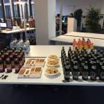Datastax Tech Day bei der codecentric München, Abendausklang, Essen, Getränke