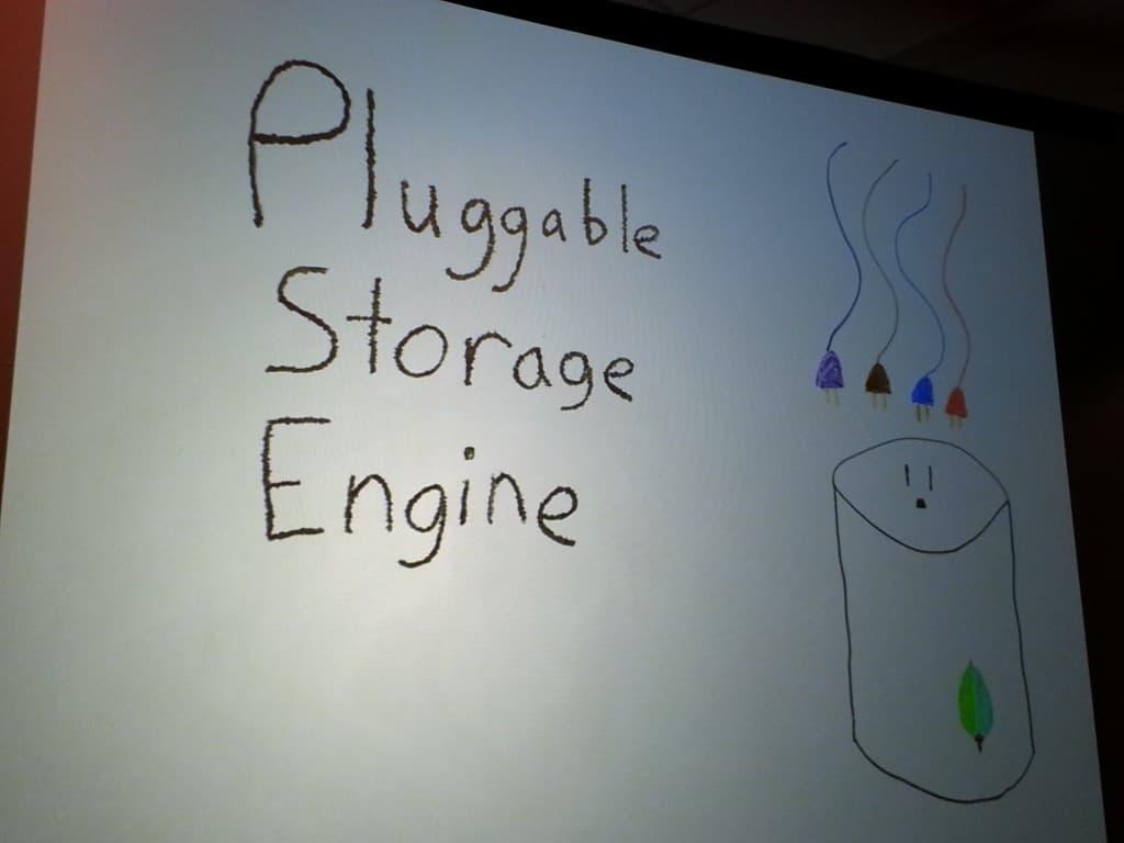 Talk on Pluggable Storage Engine