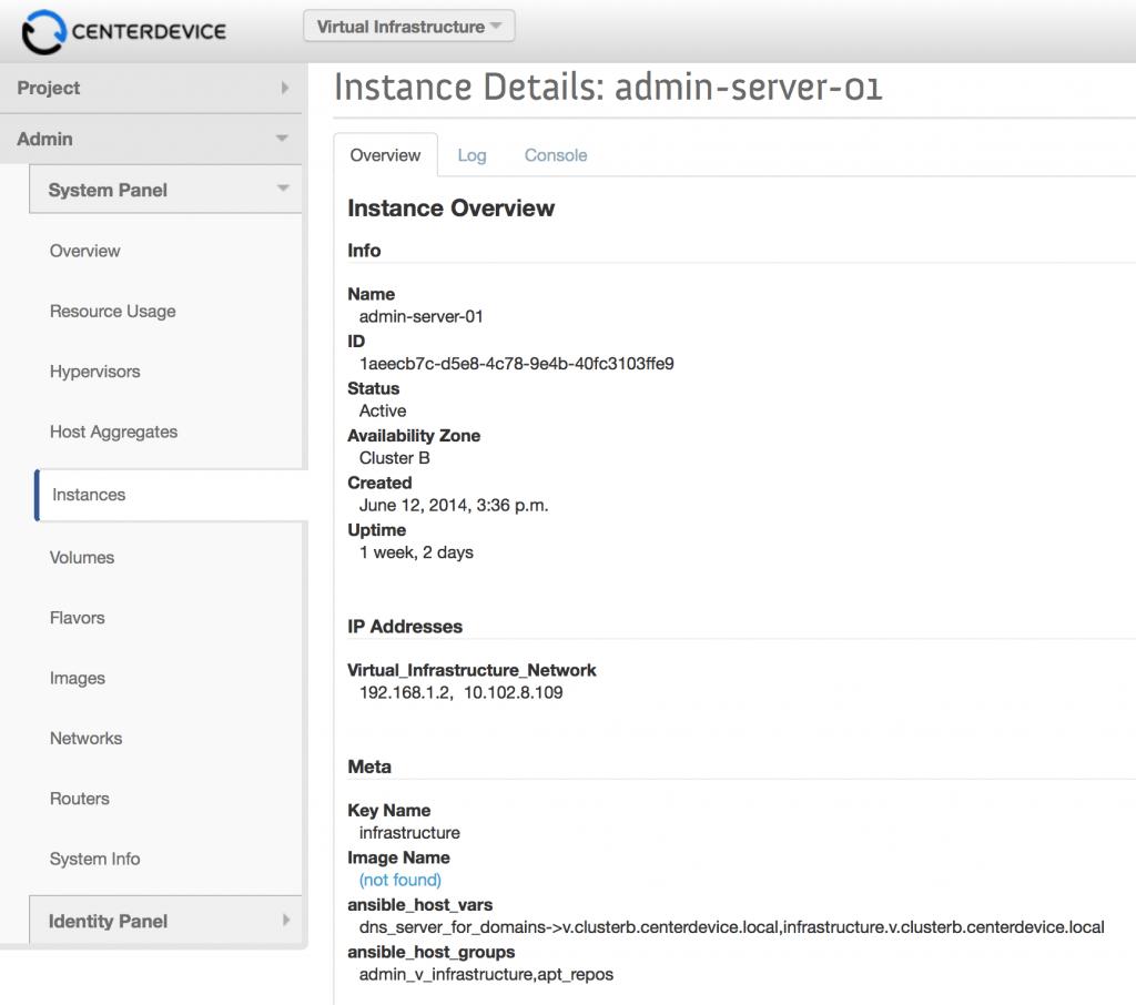 OpenStack_Instacen_Metadata