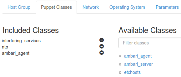 Included Classes