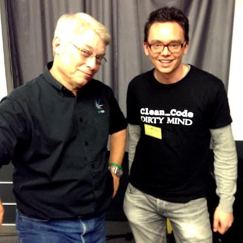 Uncle Bob und David Völkel