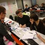 Agile Software Factory Boot Camp mit der FH Aachen, Fragen, Gruppenbild, Präsentation, Mindmap