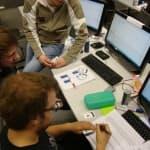 Agile Software Factory Boot Camp mit der FH Aachen, Fragen, Karten, Spiel, Gruppenbild