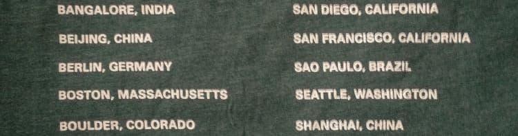 MongoDB World Tour 2012