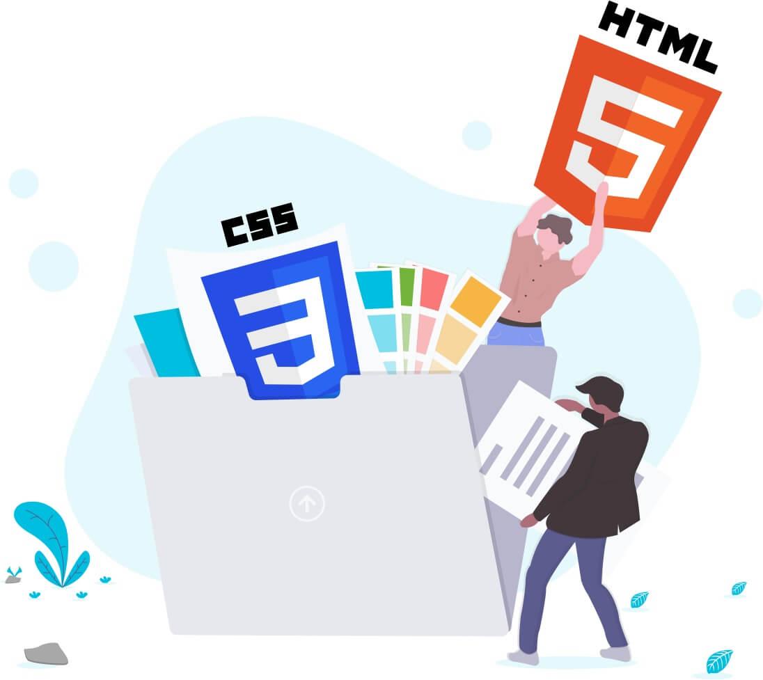 graphic html css