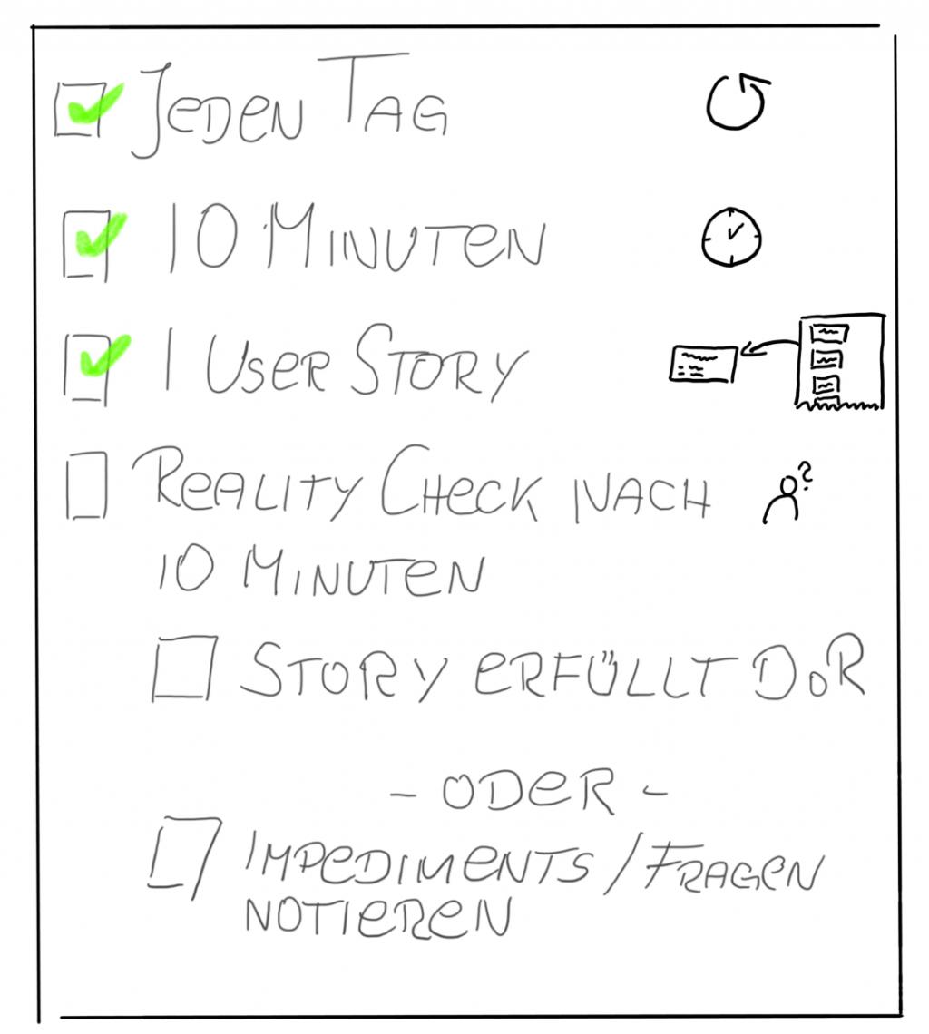 Story Time Regeln